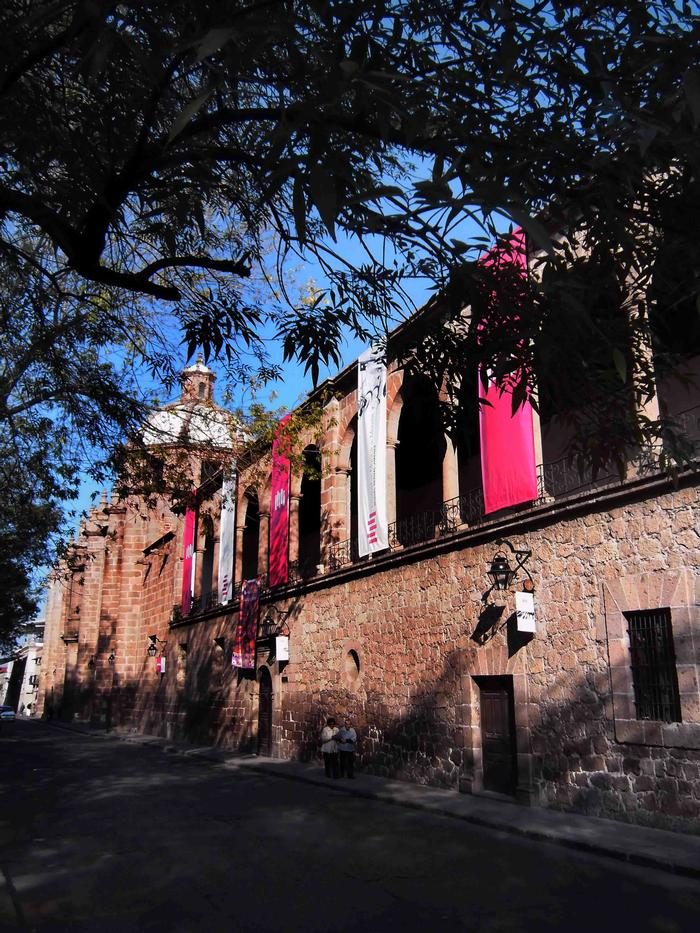 Main Façade of the Conservatorio de las Rosas.