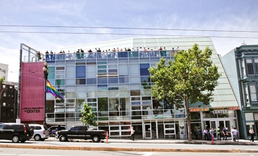 <p>THE SF LGBT CENTER, San Francisco, USA. Cee/Pfau Collaborative, 2000. The LGBT Center was established in the 1970s to connect the diverse lesbian, gay, bi-sexual, and trans communities with important resources. (Contributor: Thea Chroman).</p>