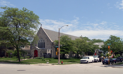 ST. MARK'S EPISCOPAL CHURCH AND RELIGIOUS COMMUNITY CENTER, Milwaukee, U.S.A. (Contributor: Arijit Sen)