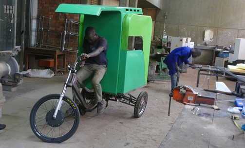 Ben Wokorach (BP 2013), Fruiti-Cycle Second Prototype, Kampala, Uganda (2016)