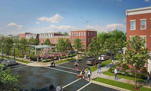 Delma Palma (BP 2014), a planned mixed-income development, Washington, D.C.,
